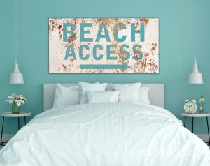 Beach Access white room