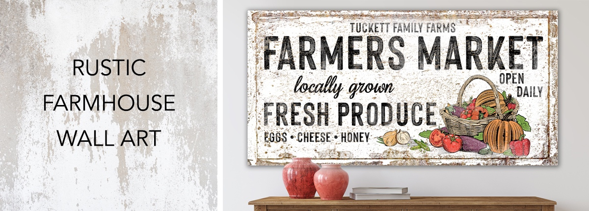 Rustic Farmhouse Wall Art