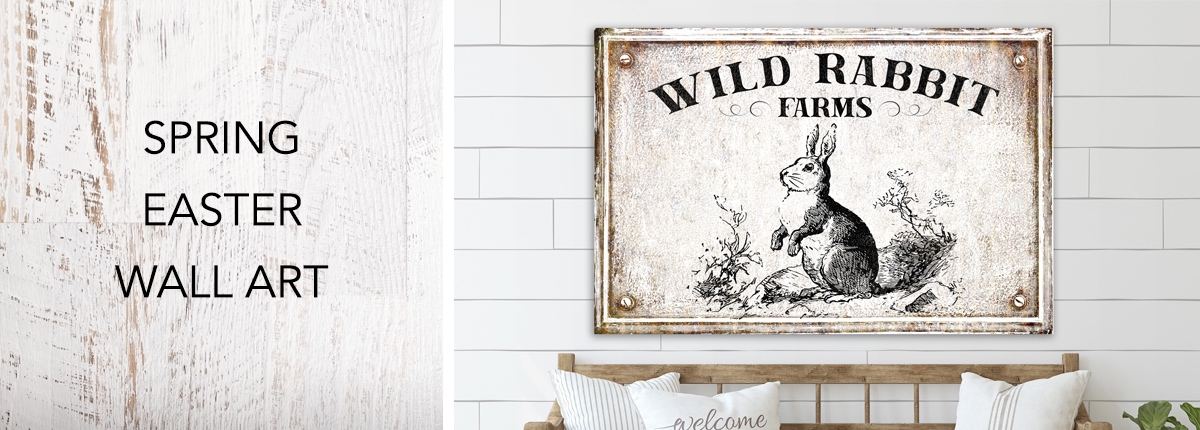 Spring Easter Wall Art