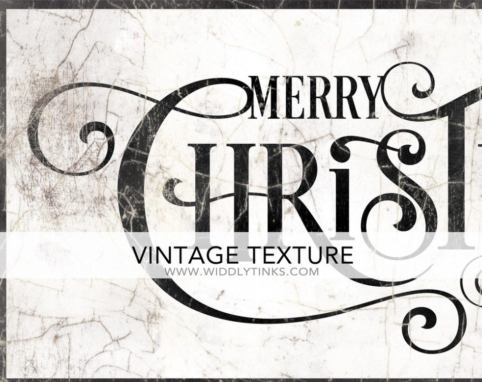 Vintage Merry Christmas Sign closeup