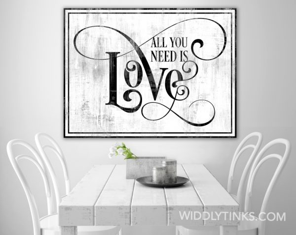 all you need is love grey room