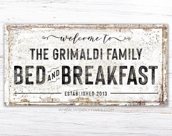 bed breakfast simple