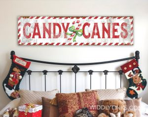candy canes room