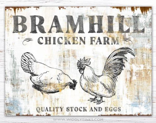 chicken farm simple