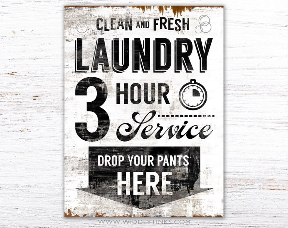 clean fresh laundry simple