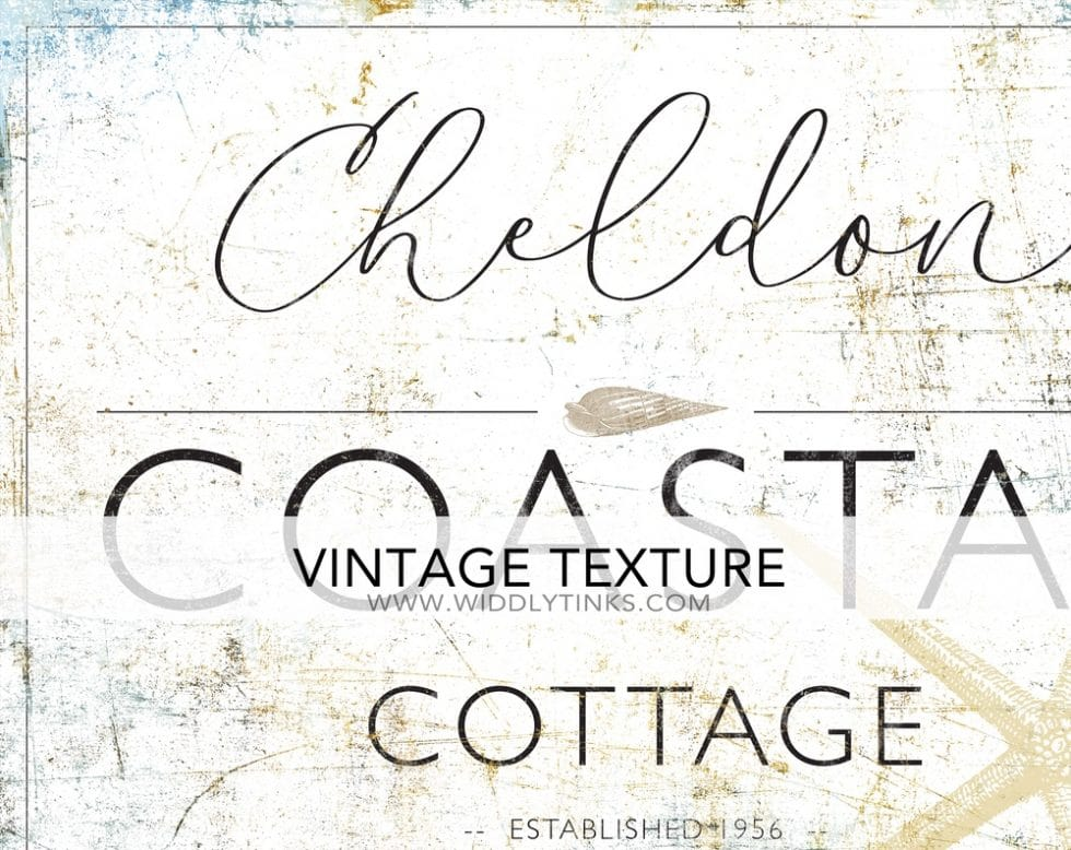 coastal farmhouse cottage beach house sign closeup