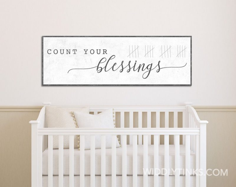 count your blessings room1