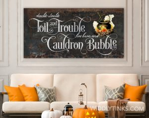 double double toil trouble room