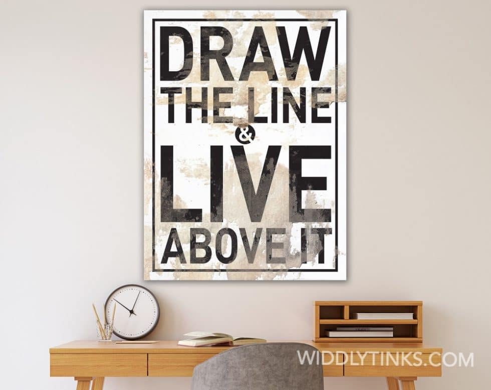 draw the line room