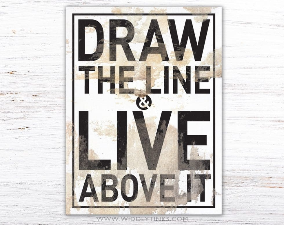 draw the line simple