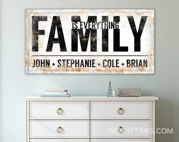 family is everything room1