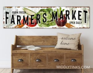 farmers market curved room white