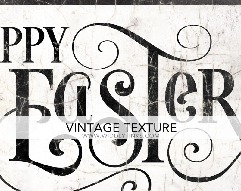 french country happy easter sign closeup