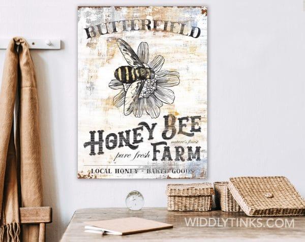 honey bee farm room1