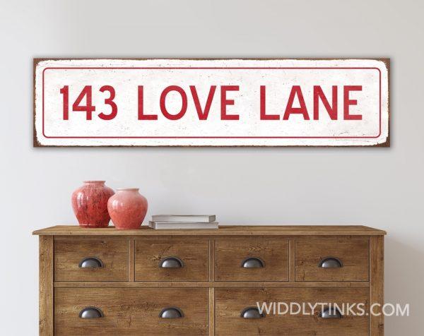 industrial vintage love lane room
