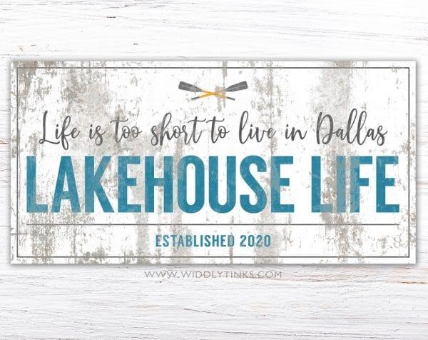 lakehouse life simple