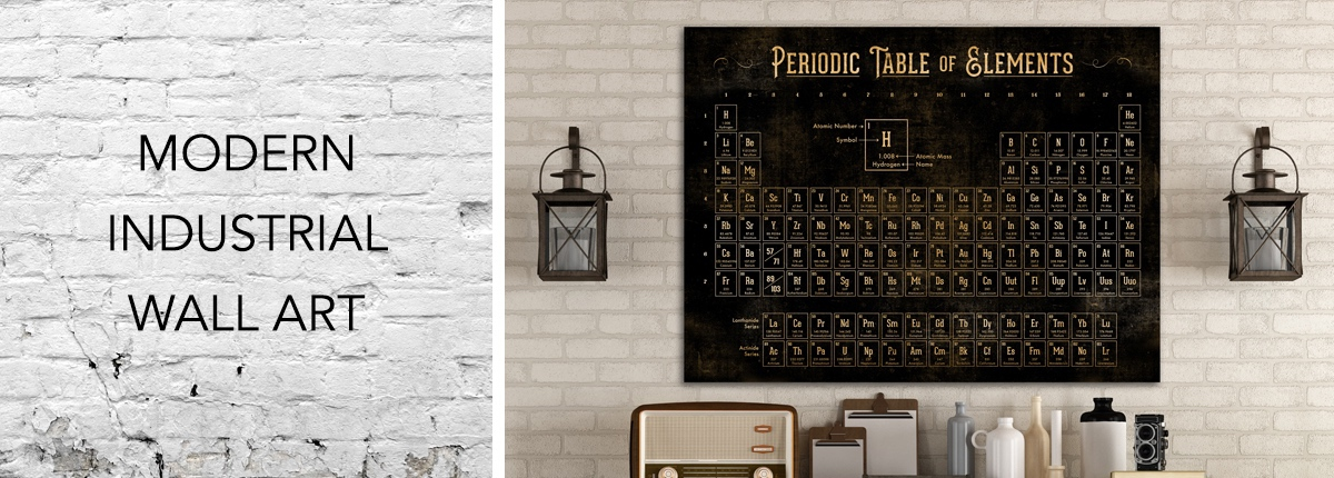modern industrial wall art