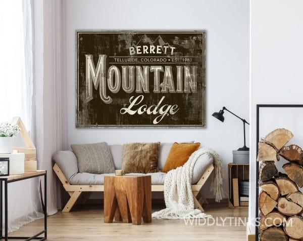 mountain lodge brown room1
