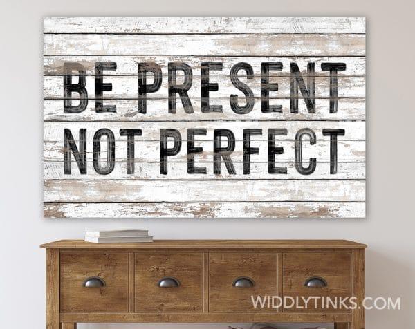present not perfect room