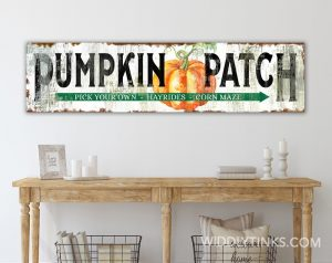 pumpkin patch room white