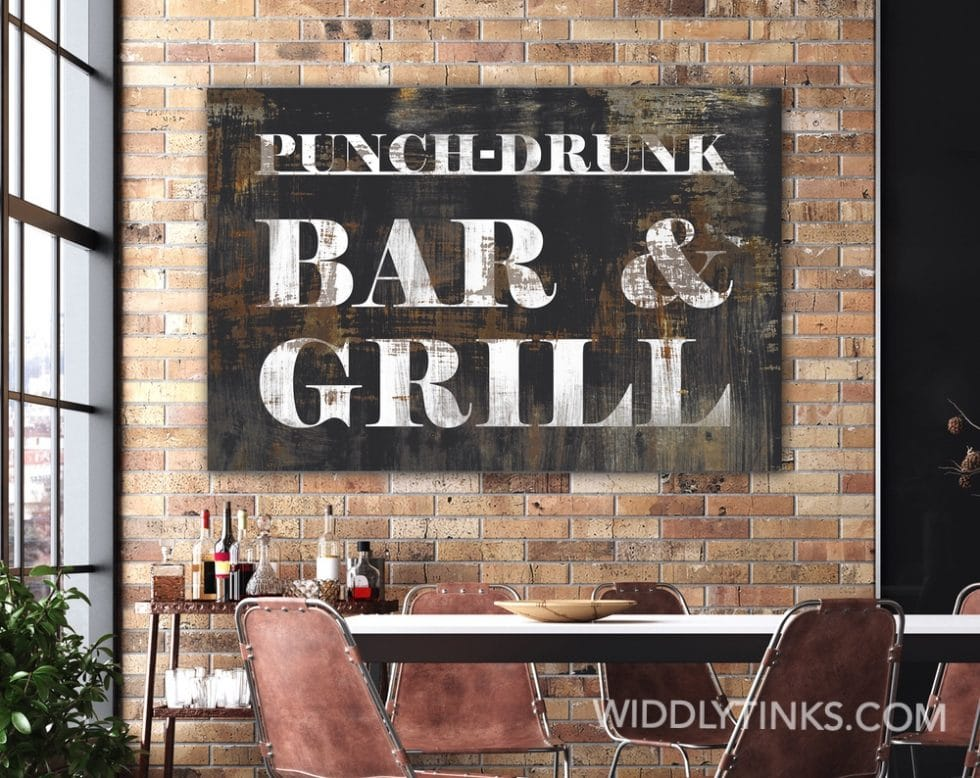 punch drunk bar grill room