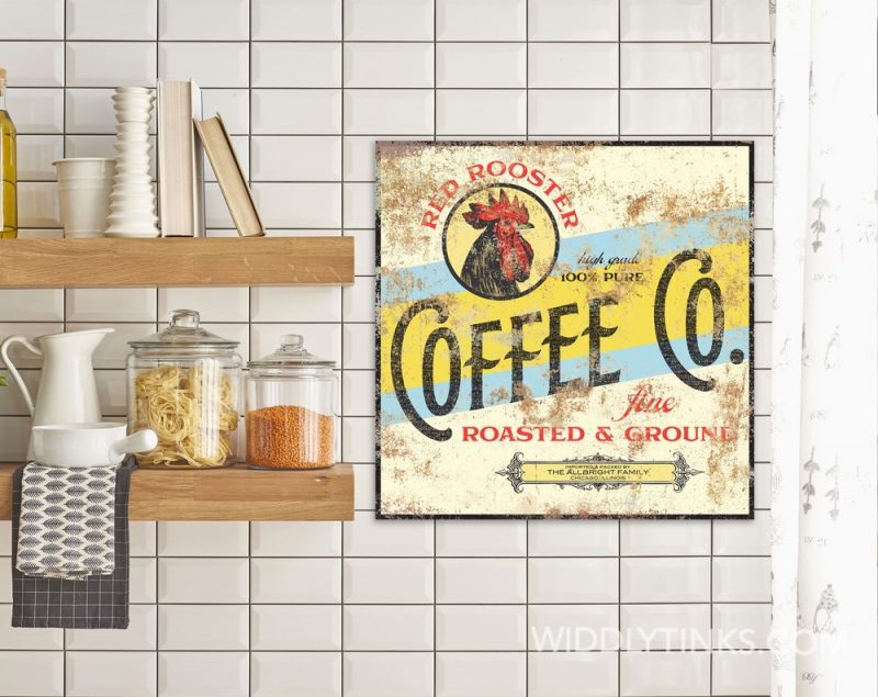 red rooster coffee co room2