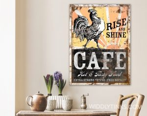 rise and shine cafe room