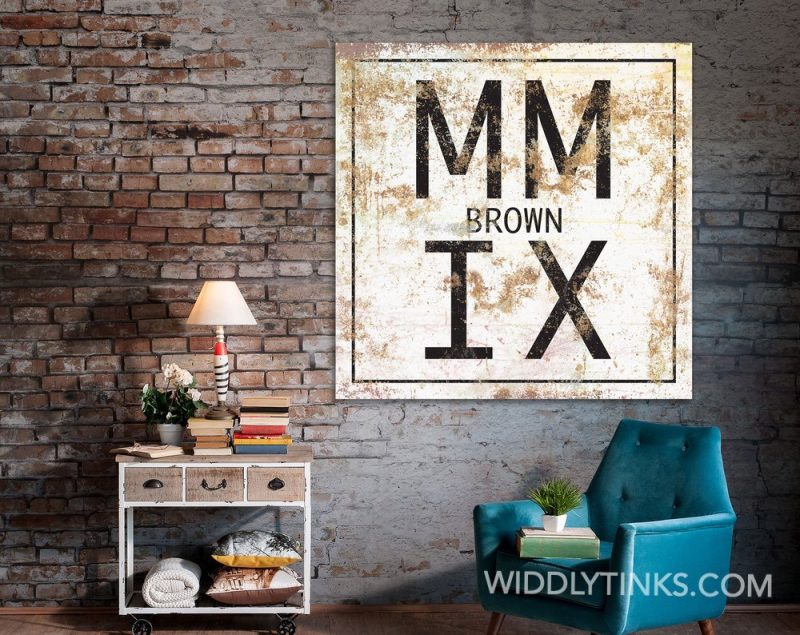 roman numeral family name room2