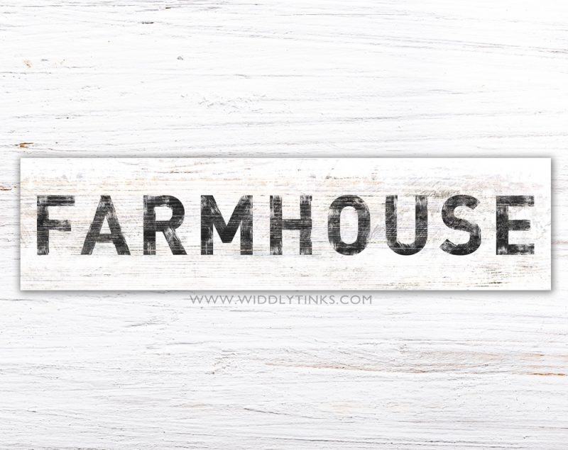 rustic chic farmhouse sign simple