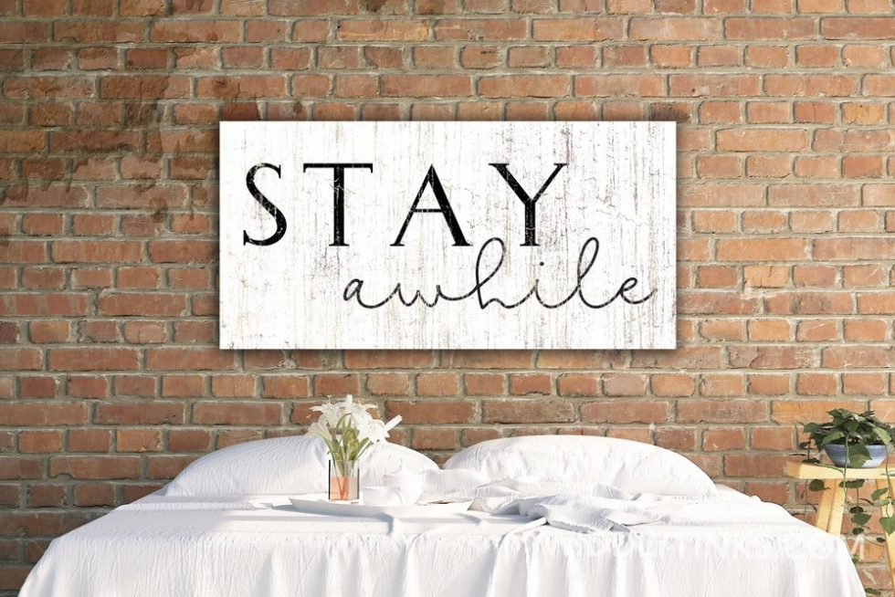 stay awhile room