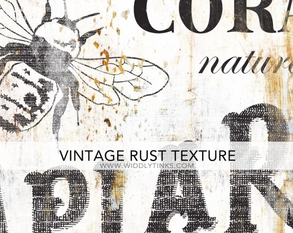 vintage farmhouse apiaries honey bee farm sign closeup