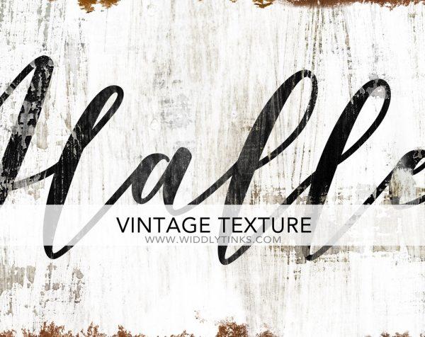vintage rustic hallelujah sign closeup