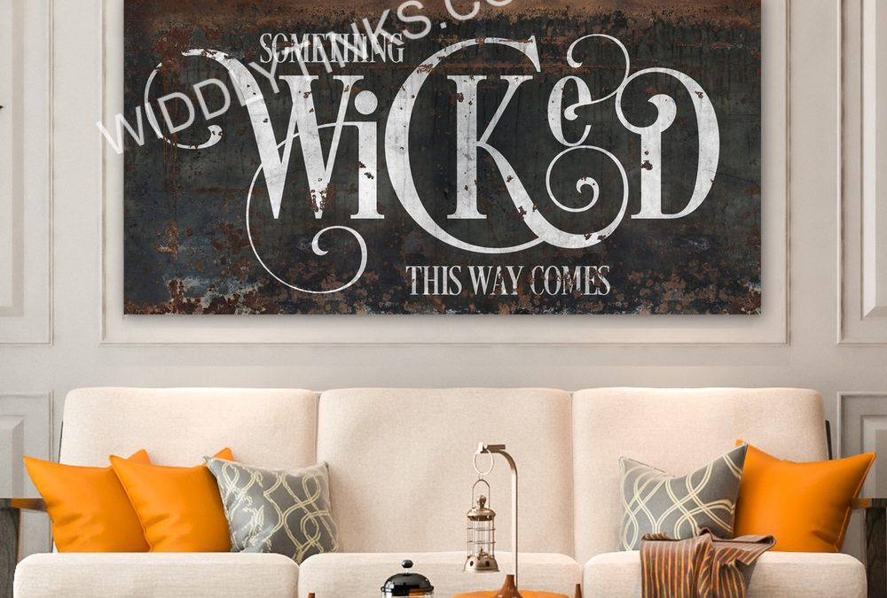 Widdlytinks Launches New Halloween Designs for Canvas Wall Art